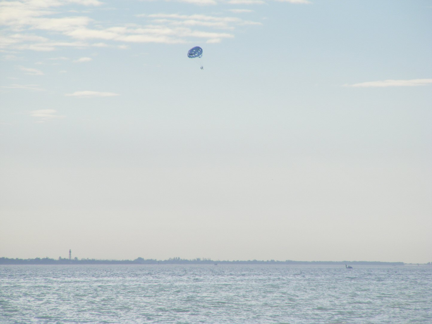 Florida Parachute in Distance