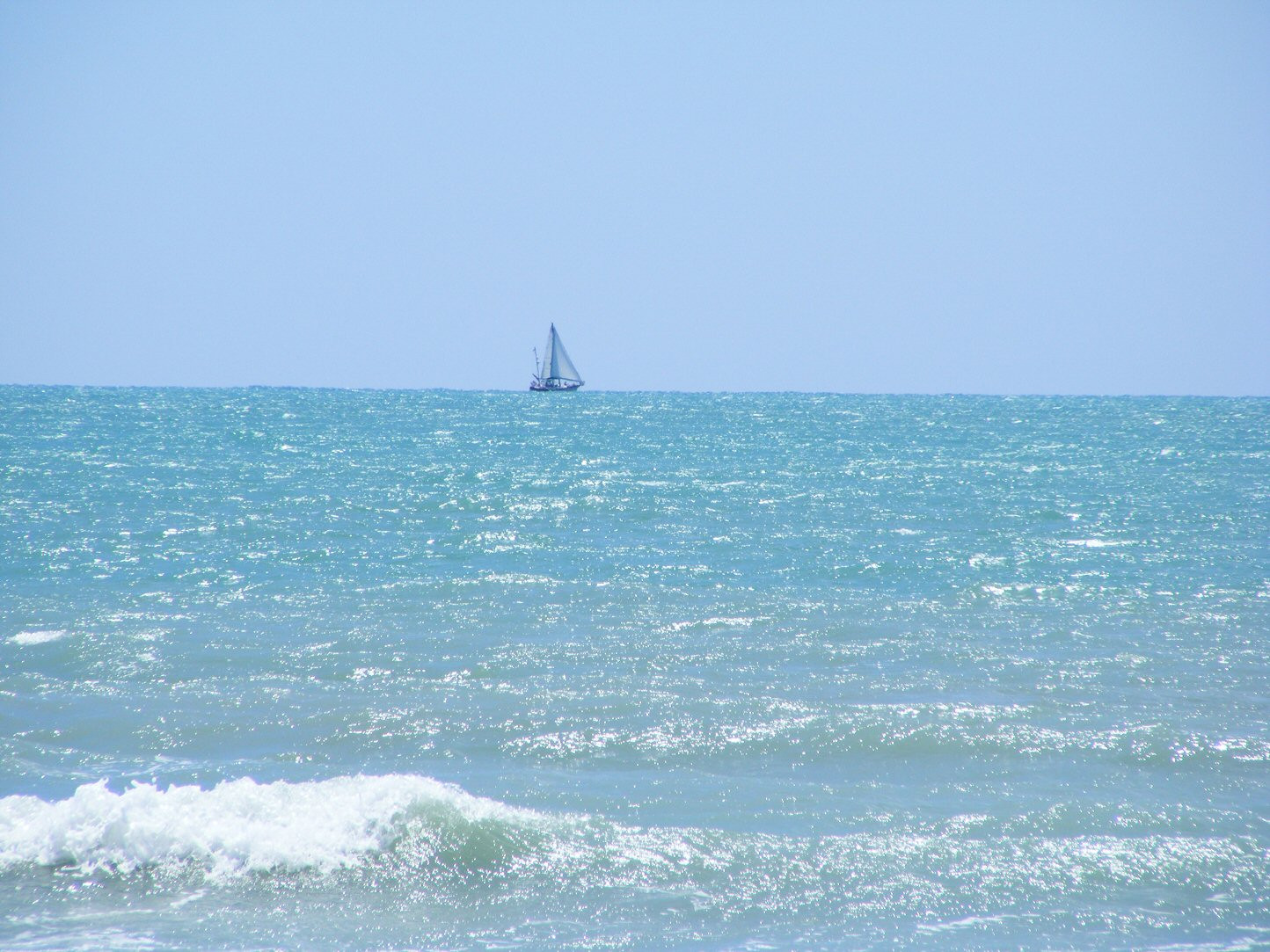 Florida Sailboat in the Distance