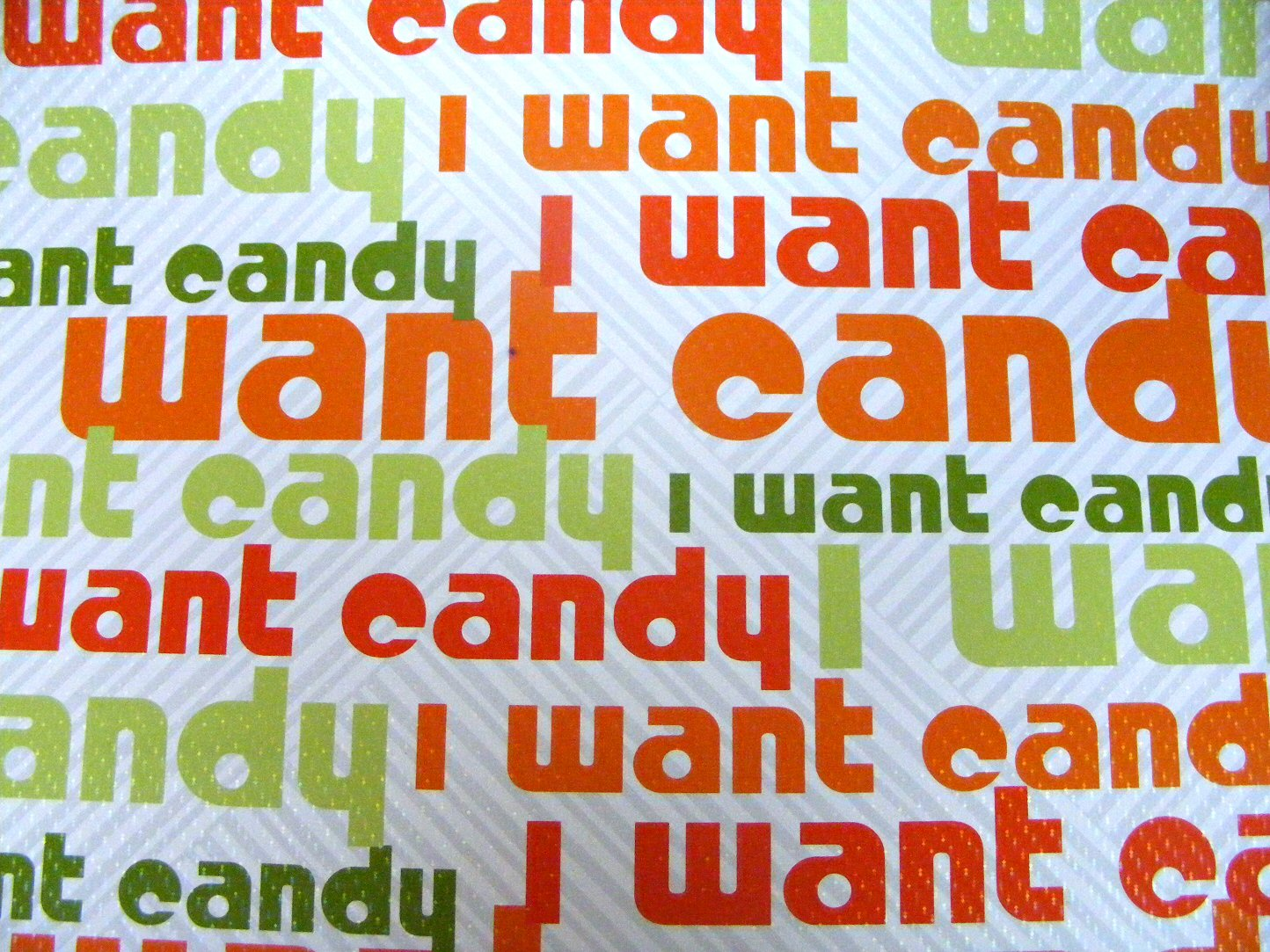 I Want Candy Wallpaper