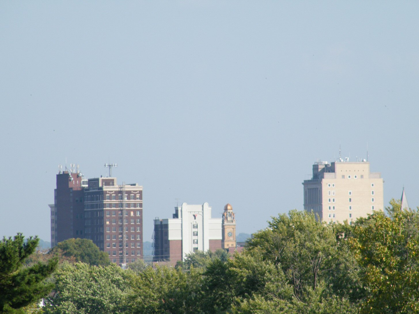 Downtown Canton Ohio Skyline